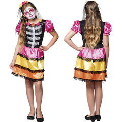 Mexicaans skelet jurkje