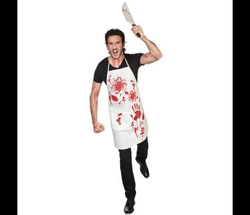 Horror Halloween bebloed keukenschort