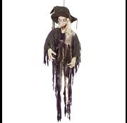 Bewegende Halloween Decoraties heks