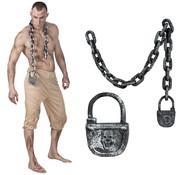 Slavenketting met slot
