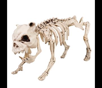 Halloween skelet hond
