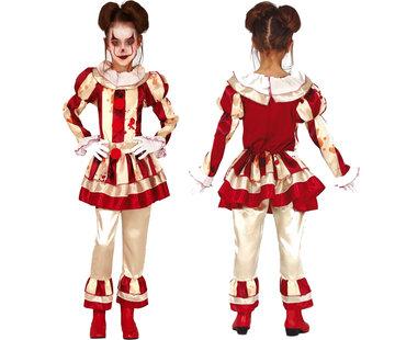 Killer clown kostuum kind