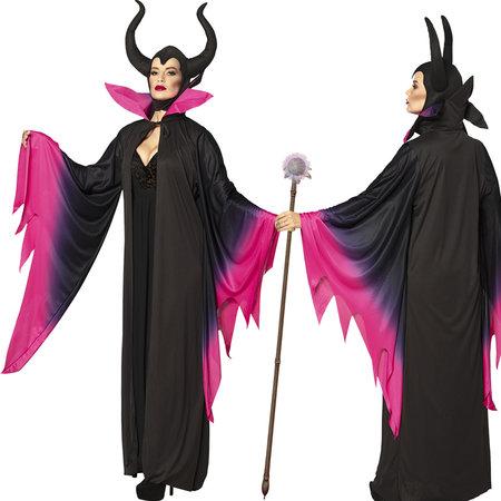 Lange duivel jurk Sorceress