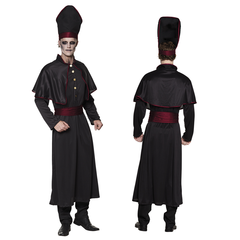 Halloween priester Kostuum