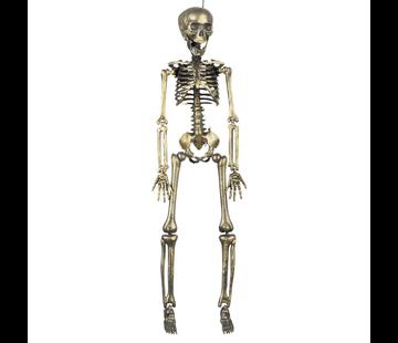 Decoratie skelet goudkleurig