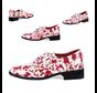 Horror schoenen bloed-spatten