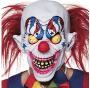 Latex masker Creepy clown