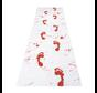 Horror bloederige witte loper