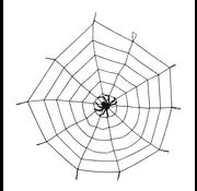 Spinnenweb elastisch met spin
