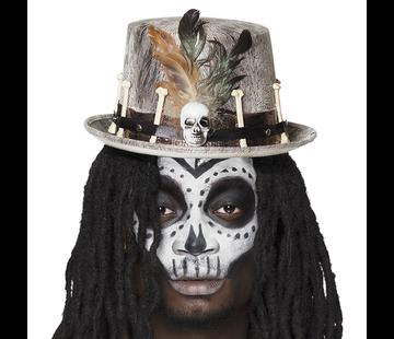 Voodoo dokter hoed voor mannen