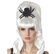Pruik Spider bride wit