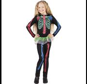 Kinderkleding Neon skelet