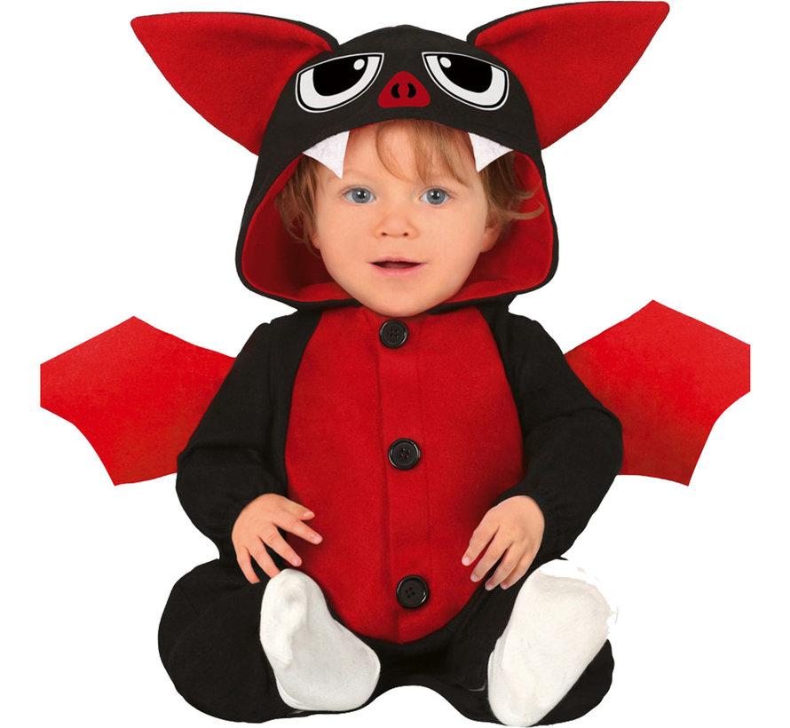 Mini duivel kostuum voor baby's