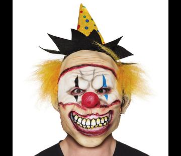 Freaky clown masker