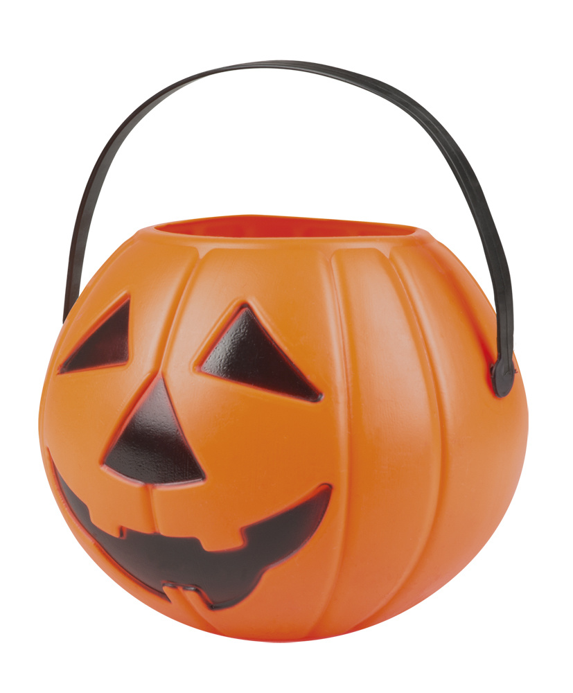 Pompoen Halloween.Halloween Pompoen Snoepmandje Orange