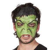Latex halfmasker Monster Frankenstein