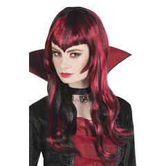 Vampier pruik vrouw