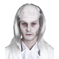 Pruik White zombie