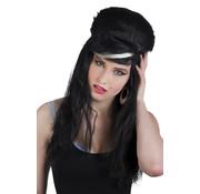 Amy Winehouse pruik