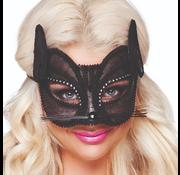 Kanten poezen masker