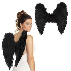 Engelen vleugels zwart