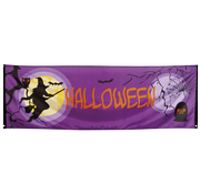 Griezelfeest Halloween banner