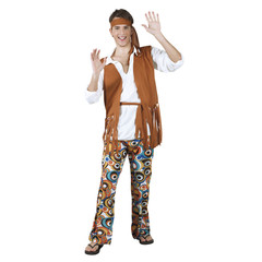 Hippie kleding man
