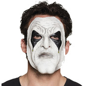 Witte clown masker