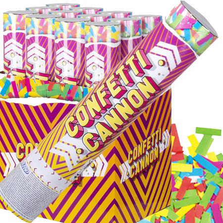Multicolor Confetti kanon slow fall