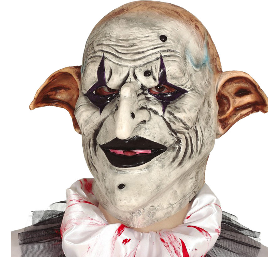 Horror Masker clown  glimlach