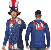 3D Shirt Uncle Sam