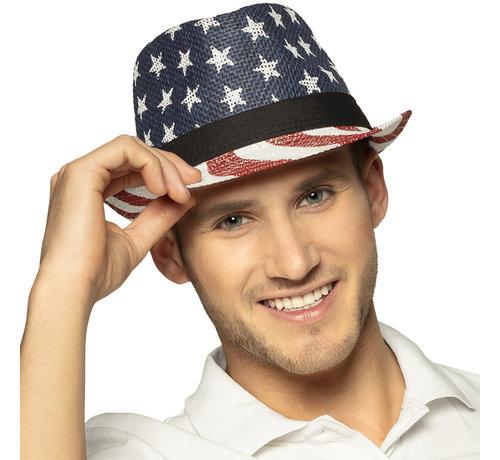 Amerikaans hoedje star en strips