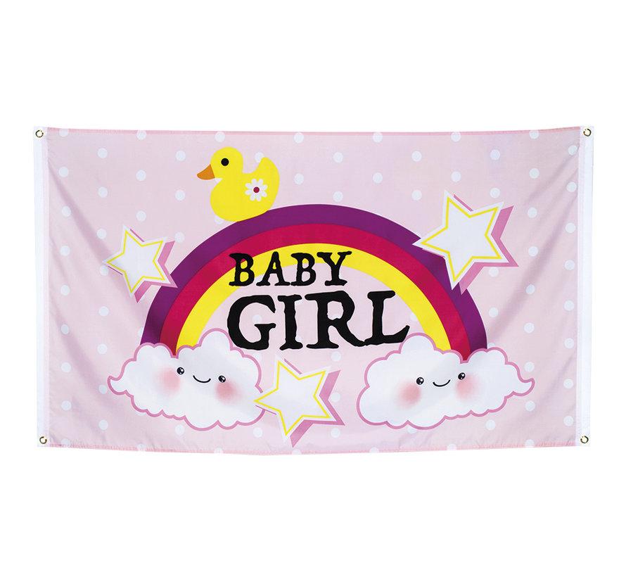 Geboortevlag meisje kopen online
