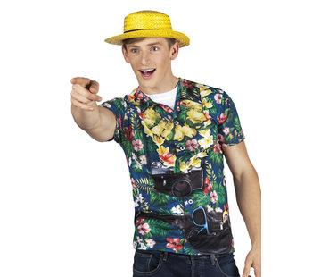 Heren Fop shirt Hawaii tourist