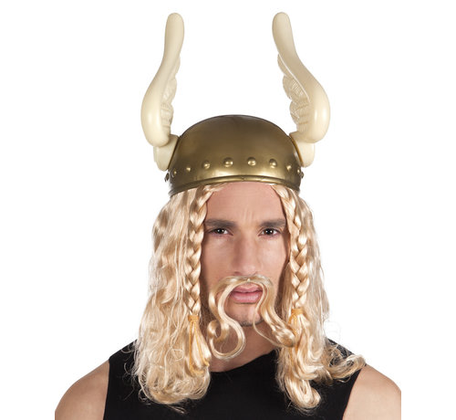 Asterix helm met vleugels