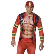 3D Shirt Brandweerman