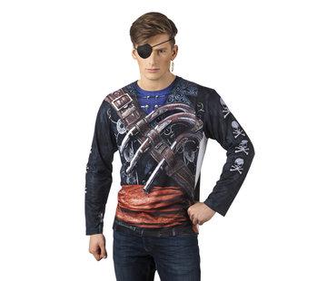 3D shirt piraat