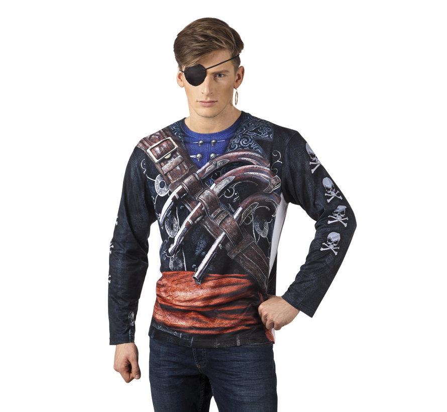 3D shirt piraat kopen