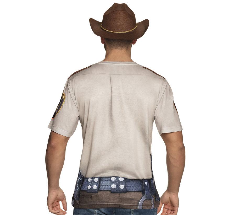 3D Shirt Sheriff kopen