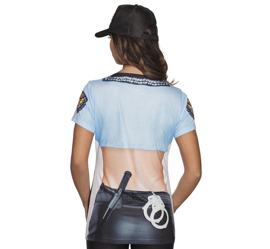 3D Shirt Politieagente kopen