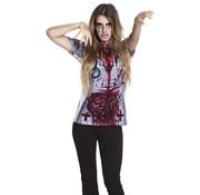 3D Shirt Horror verpleegster