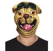 Latex bulldog masker