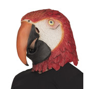 Latex masker papegaai