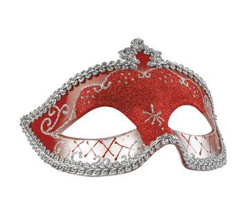 Goedkope sexy oogmasker rood