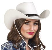 Witte Cowboyhoed