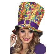 Gekleurde hippie hoed