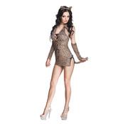 Clubwear jurkje cheeta