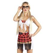 Fotorealistisch Schoolmeisje Uniform