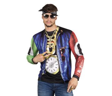 Fotorealistisch shirt Rapper