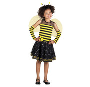 Bijenpakje carnaval | Kinderkostuum Bee-bee